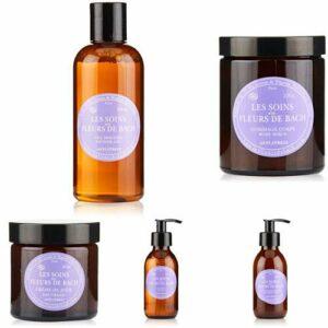 Assortiment de toilette anti-stress – ELIXIRS & CO – Gel douche, Gommage corps, Lait démaquillant, Lotion visage, Crème jour