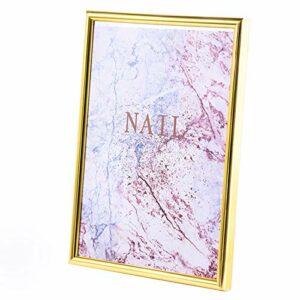BOINN Nail Couleur Tableau D'Affichage des Ongles Conseils Collection Support Conseils Ongles Professionnels AntipoussièRe Polonais Acrylique MagnéTique Affichage-1