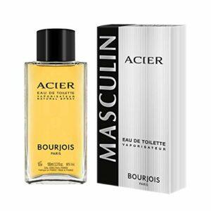 Bourjois – Eau de Toilette Homme Acier – 100ml
