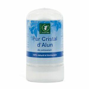Boutique Nature – Déodorant – Pur Cristal d'Alun Stick 60 g Déodorant Naturel HygiÚne/Bain BIO