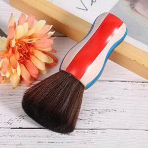 Brosse d'épilation de cou de brosse à cheveux durable douce pour les professionnels pour la vie quotidienne pour le maquillage
