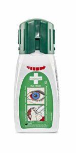 Cederroth ® | Douche Oculaire en format de poche 235 ml | La douche oculaire a un effet neutralisant sur les projections de bases et d'acides afin d'aider à restaurer le pH oculaire | 235 ml