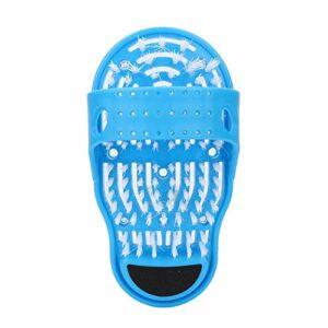 Chausson de massage, chaussures de bain Brosse de lavage des pieds Nettoyage des pieds Chaussons de massage Brosse à récurer exfoliante