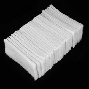 Coussin d'isolation thermique de coiffure 25 pièces tapis d'isolation thermique pour cheveux pratique pour hommes et femmes pour salon pour outil de coiffure à usage(Insulation wool)