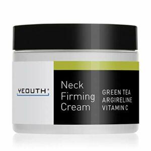 Crème pour le cou YEOUTH raffermissante, crème hydratante anti-âge pour la peau contre les rides. 2oz