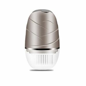 DBSUFV Brosse de nettoyage pour laveuse de visage rotative électrique Équipement de beauté multifonctionnel pour soins infirmiers à domicile Massage électrique (Or)