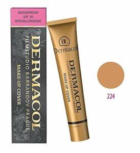 Dermacol Maquillage Couverture – Foundation HYPOALLERGÉNIQUE, Tous Les Types de Peau, (224)