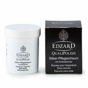 Edzard QualiPolish® Mousse de Soin d'argenté avec Protection Anti-ternissement, Contenu 200 grammes