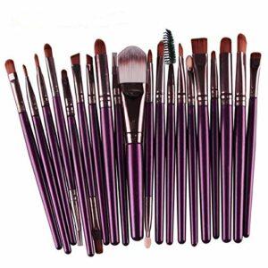 FEIYI Lot de 20 pinceaux de maquillage multifonctionnels pour le visage, les yeux, les lèvres (couleur : 09)