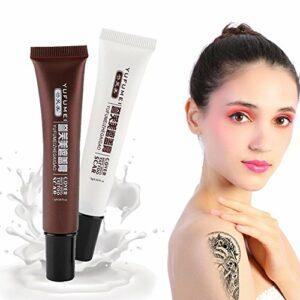 Filfeel Concealer, Ensemble de crème de couverture de maquillage de cicatrices de Vitiligo de cachet de tatouage professionnel de cicatrice