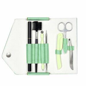 Frcolor Kit de soins des sourcils, pince à épiler et paire de ciseaux Set de soins des sourcils pour sourcils