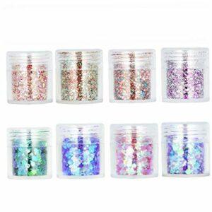 Glitter Paillettes Fard À Paupières Nail Set Chunky Corps Pearly Visage Brillant Cosmétiques Maquillage Pour La Décoration Santé Et Beauté