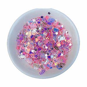 GREEN&RARE Mélange de paillettes en PVC, résine époxy pour décoration d'ongles.
