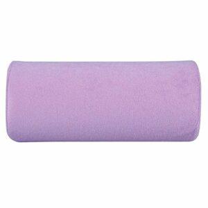 HGY Coussin Ongles,Art Rest Coussin Main Ongles manucure Souple éponge Oreiller Portable Outil de Maquillage Violet