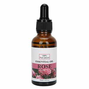Huile essentielle Huile de massage corporel Huiles pour le visage Huile hydratante pour le corps Convient à l'hydratation de la peau Blanchiment du corps entier Huile essentielle de massage(rose)