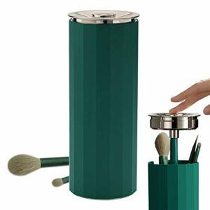JINGBO UV Support de Pinceaux de Maquillage Désinfectant Boîte, Boîte De Desinfectant avec Pinceaux Maquillages Tue 99,99% des Substances Nocives en 3 Min pour Outils de Beauté