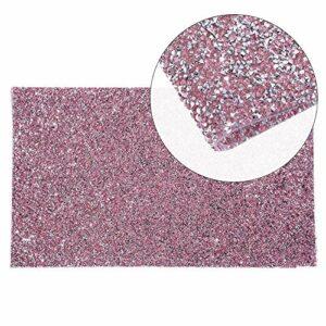 Kalolary Diamant Nail Art Rest Tapis, Tapis Strass de Repos pour Ongles Pliant Manucure Table Tapis utilisé pour faire une manucure, un qui convient à l'art des ongles