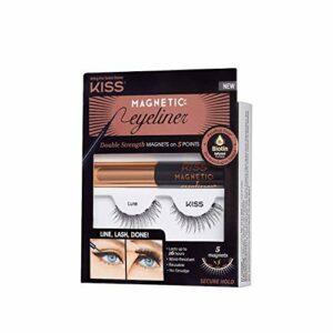 KISS Kit Eyeliner magnétique & Cils – Leurre