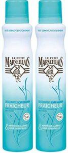 Le Petit Marseillais Déodorant Fraicheur 24h Soin Marin 200 ml – Lot de 2