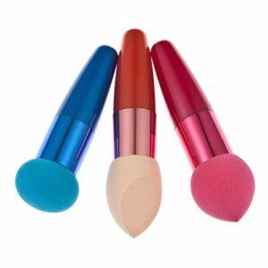 LEORX Beauté éponge cosmétiques maquillage Pinceaux Blender teint crème liquide correcteur éponge Puff -3 pièces
