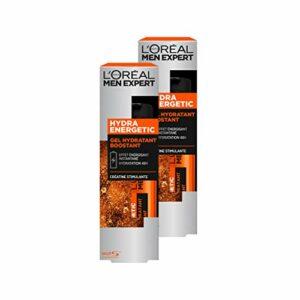 L'Oréal Men Expert – Soin Créatine – Hydratant & Énergisant – Hydra Energetic – 50 mL