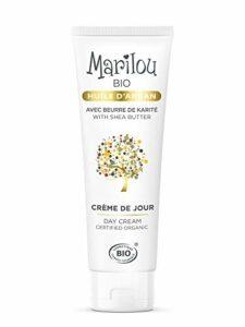 Marilou Bio – Gamme Argan – Crème de Jour à l'Huile d'Argan – Tube de 50 ml – Le Meilleur Allié des Peaux Sèches