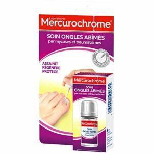 MERCUROCHROME – Soin Ongles Abîmés Par Mycoses 20Ml – Lot De 2