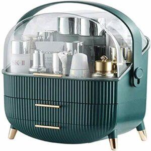 N A Organisateur de Maquillage tiroir Organisateur de beauté de Stockage cosmétique Anti-poussière, ustensiles de Maquillage pour Salle de Bain, Chambre à Coucher