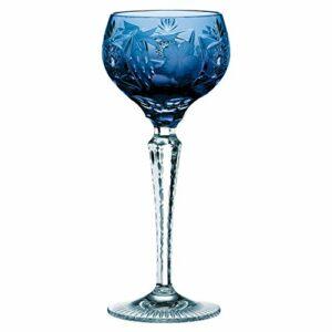 Nachtmann 3500/2 Lot de 12 pots de fleur en verre et 2 pots de fleur de raisin Bleu cobalt 35951 + 1 produit de soin pour le corps Trinitae