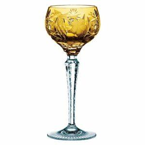 Nachtmann 3500/2 Lot de 12 verres et 1 pièce Roemer grand modèle 3500/2 Raisin Ambre 35949 + 1 produit de soin pour le corps Trinitae