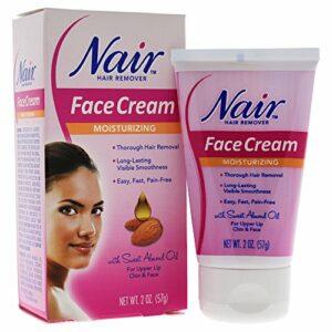 Nair – Hydratant Crème Pour Le Visage De Lèvre Supérieure Chin Et Le Visage Épilation 55G