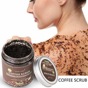 Oyalaiy Coffee Scrub Exfoliation Exfoliation Enlever Les Varices Cellulite Vergetures Crème Exfoliante Pour Le Corps Visage