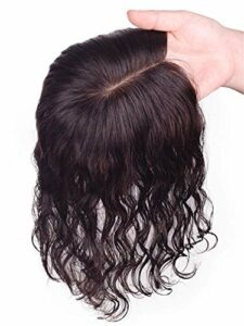 Perte de Cheveux Cheveux Fins Cheveux ondulés pour Femmes Fait à la Main attaché 3 'X 5' Accessoires de Maquillage en Soie