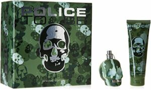 Police To Be Coffret Camouflage pour Homme – Parfum 75 ml + Gel Douche Cheveux/Corps 75 ml