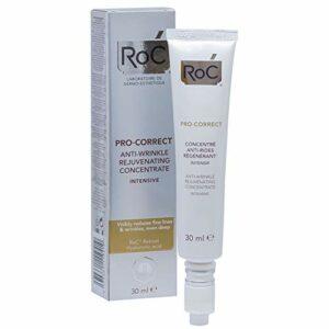 RoC – Concentré de rajeunissement anti-rides Pro-Correct Intensif – Tous types de peau – Réduit les ridules et les rides – ROC® Rétinol avec acide hyaluronique – 30 ML