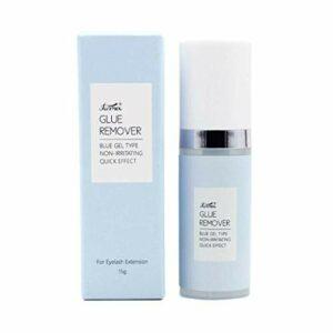 Saingace Haute Qualité Parfum Bleu Pas De Stimulation Puissant Dissolvant De Colle Pour Cils DéMaquillants Yeux – 15G