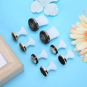【𝐏𝐫𝐢𝐧𝐭𝐞𝐦𝐩𝐬 𝐕𝐞𝐧𝐭𝐞 𝐂𝐚𝐝𝐞𝐚𝐮】Séparateur d'orteils en silicone, anti-corrosion, confortable, pour salon de beauté (groupe de style A)