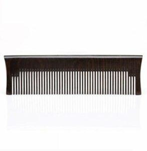 SHAOXI Nouveau Petit dent aux pellicules Pas Carte, ne Pas Blesser Le Peigne Dents de Cheveux Cisailles et Ciseaux (Color : Black)