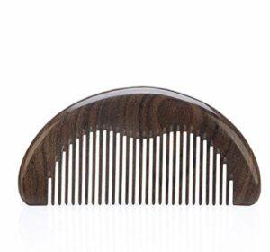 SHAOXI Nouvelle dent Dense aux pellicules Pas de Carte, ne blessez Pas Le Peigne à Cheveux Cisailles et Ciseaux (Color : A)