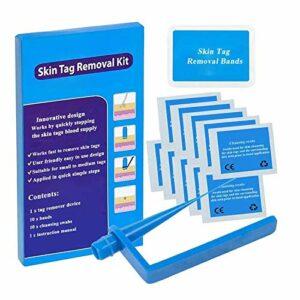Skin Tag Remover Coffre-fort Innovant Traitement Acrochordon Pour Les Étiquettes De Peau Petites À Moyennes