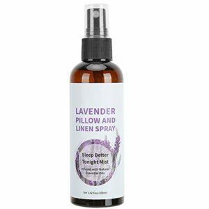 Spray d'oreiller à la lavande, brume de lavande pour un sommeil profond, spray de sommeil de beauté, spray de brume d'oreiller aromathérapie, dormir mieux ce soir 100 ml