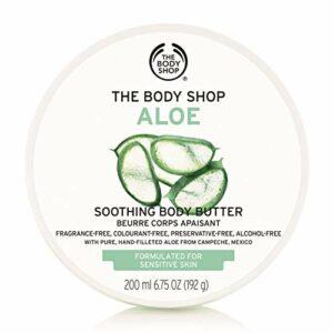 The Body Shop – Beurre Corporel Pour tous les types de peau – Aloes 200ml