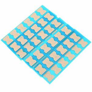 Uxsiya Edicure Toenail Patch Professional Durable pour la beauté pour Le ménage(60 Pieces)