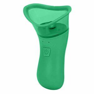Uxsiya Outil d'agrandissement des lèvres, rebondissant électrique Doux pour Les lèvres pour Un Usage Domestique pour Le Maquillage pour Un Usage Quotidien(Green)