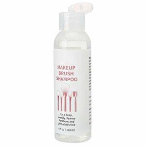 Uxsiya Pinceau de Maquillage Efficace Nettoyage Liquide Poudre bouffée de Nettoyage shampooing Outil de Maquillage shampooing de Nettoyage pour Salon de beauté Utilisation pour Les Femmes à Usage