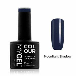 Vernis à ongles MyGel, de MYLEE (10ml) MG0051 – Moonlight Shadow Manucure UV/LED Nail Art Pédicure pour un usage professionnel dans le salon et à la maison – Durable et facile à appliquer