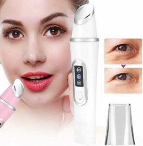WGZL Masseur Oculaire, Instrument De Beaute LED Massage, Supprime Les Cernes, La Peau Lisse, La Peau Anti-Rides, Raffermissante Et Apaisante