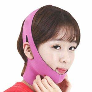 WT-DDJJK Ceinture de Twining, Femmes coréennes délicates pour Le Visage Minceur Ceinture de Pansement Masque en V réduire Le Double Menton Soins de la Peau Sangle beauté Shaper Outils de Lifting