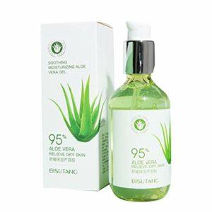 WT-DDJJK Crème pour Le Visage, Gel d'Aloe Vera – Plante d'Aloe Vera Biologique pour Les Soins naturels de la Peau