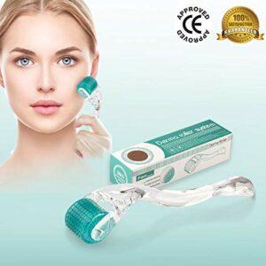 Xtrabeauty Rouleau à 192 micro-aiguilles de ponction anti-cellulite Système Anti-Âge Peau acné Vergetures Réduire la cellulite perte de cheveux